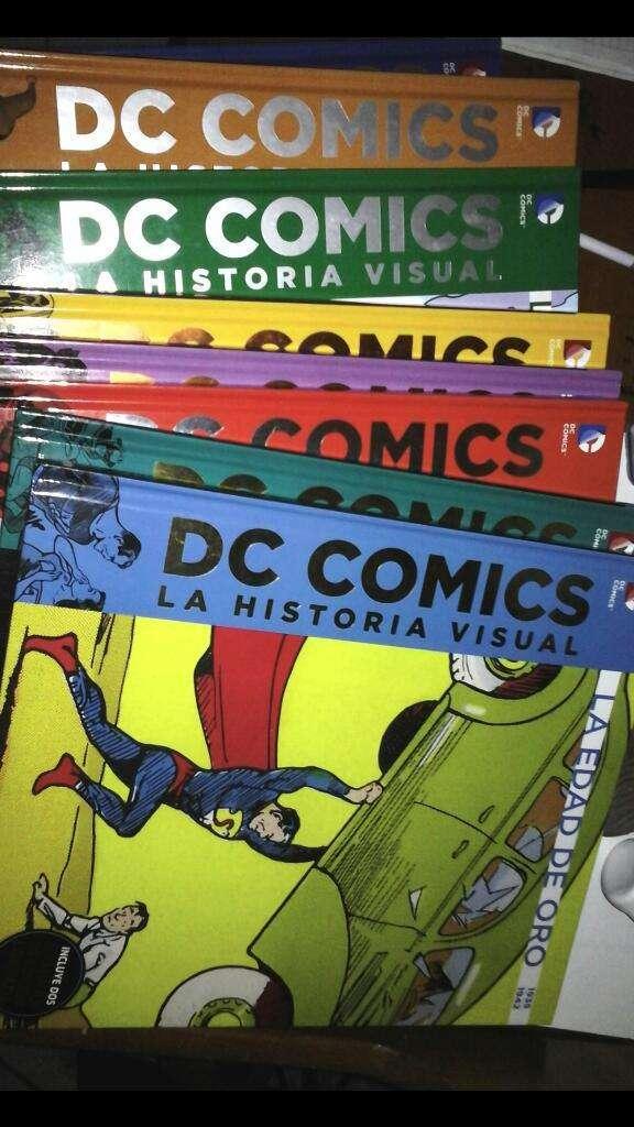 Historia Visual Dc Comics 0