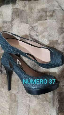 Zapatos de cuero numero 37