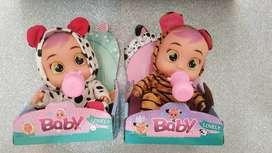 bebes lovely con sonido ( 20 cm )