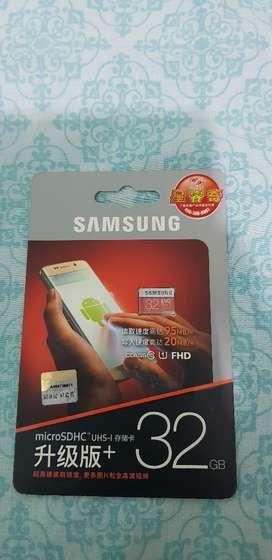 M.micro Sd Samsung 64 Gb 100mb X Segundo