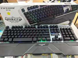 Teclado luces led