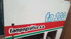 IMPRESORA TAMPOGRAFICA TAMPO 2 COLORES mod TA100
