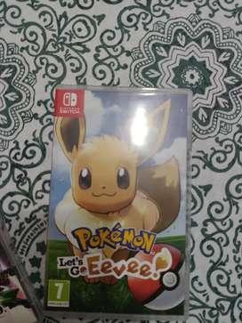 Pokemón Eevee switch