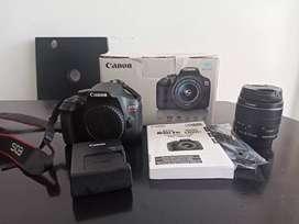 Camara Canon T6 ,WIFI, NFC , MEMORIA DE 32 GB