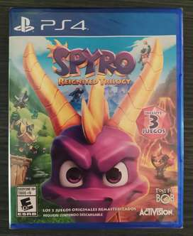 Spyro Collection PS4  3 juegos en 1