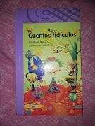 LIBRO CUENTOS RIDÍCULOS DE Ricardo Mariño