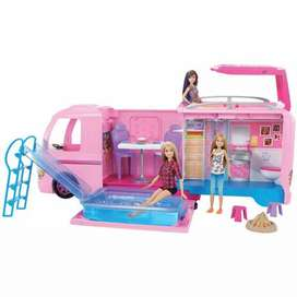 Camper De Barbie Original Y Nuevo De Mattel Super Promocion