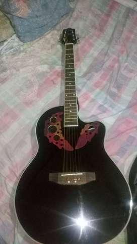 Guitarra electroacústica Parquer símil Ovation