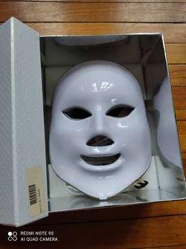 Máscara Led 7 colores