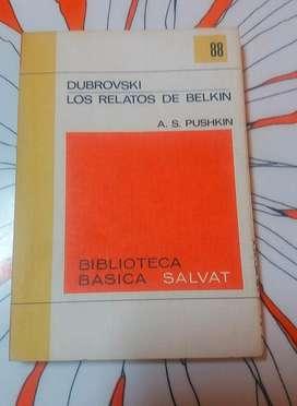 DUBROVSKY LOS RELATOS DE BELKIN A. S. PUSHKIN BIBLIOTECA SALVAT