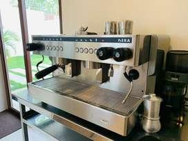 Cafetera NERA GAGGIA automatica de 2 grupos