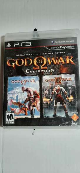 JUE GO GOD OF WAR COLLETION 1 Y 2 PARA PLAY STA TION 3