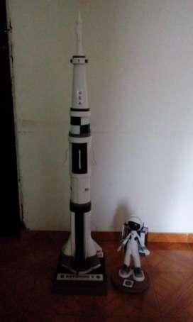 cohete espacial saturno V