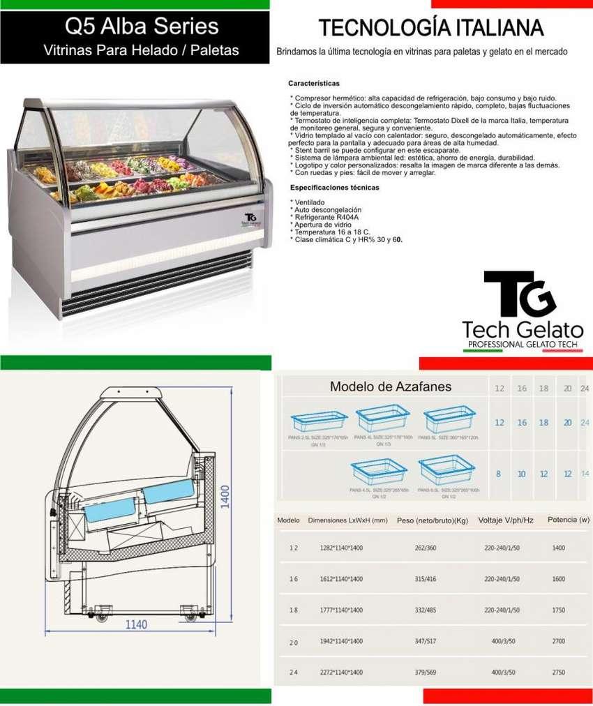 VITRINA GELATO NUEVAS ITALIANAS TechGelato