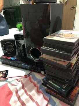 Se vende DVD marca LG