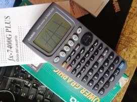 Calculadora Casio fx-7400g plus nueva caja manuales