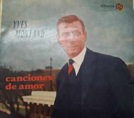 Ives Montaind Vinilo
