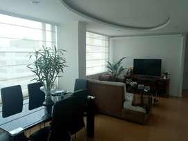 renta departamento penthouse localizado en la carolina- amazonas