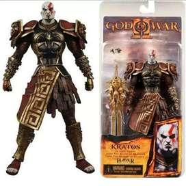 Figura kratos con armadura