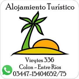 Alquiler Temporario en Colon entre Rios