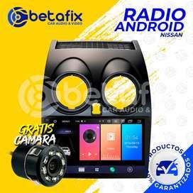 RADIO ANDROID PARA NISSAN QASHQAI GPS BT USB WIFI BETAFIX