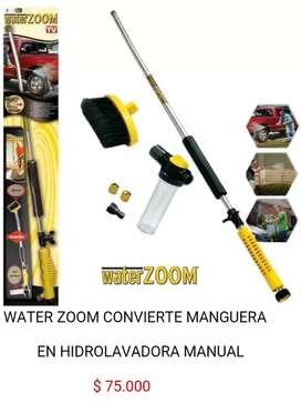 Water zoom hidro lavadora manual limpiadora de alta presion para manguera bomba de agua hidrolavadora
