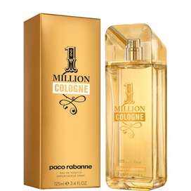 Perfume One Million Cologne de Paco Rabanne Caballero 125ml ORIGINAL