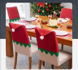Forro silla fantasia de navidad