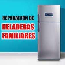 REPARACION DE HELADERAS DE HOGAR Y COMERCIALES EN EL ACTO
