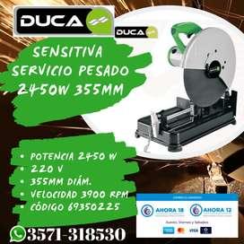 SENSITIVA DUCA 2450W 355MM MC MOTOS DIVISION FERRETERÍA