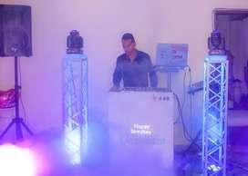Alquiler de sonido, luces y dj