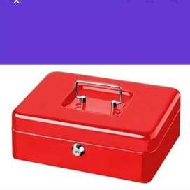 Caja menor de seguridad metálica