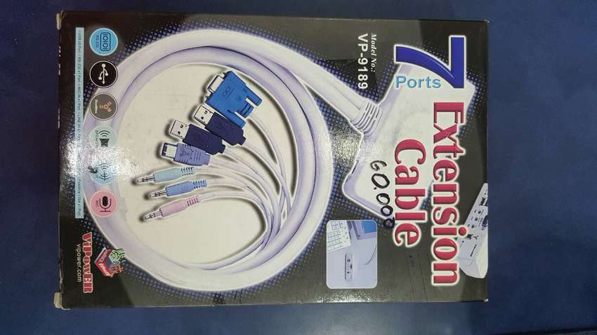 Extension Vipower vp-9189 firewire, usb, rs232, line in, micrófono, parlanteso 0