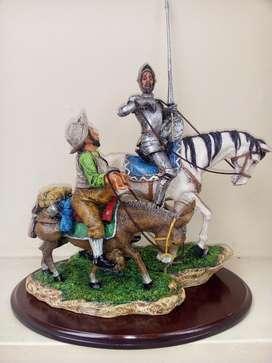 Figura de Don Quijote Y Sancho Panza