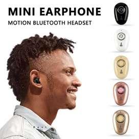 Mini auriculares con estilo Bluetooth 4.1 Auriculares altos Efecto de sonido Música Deportes inalámbricos