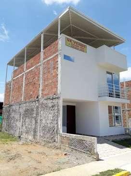 Se vende casa de dos pisos mas  terraza