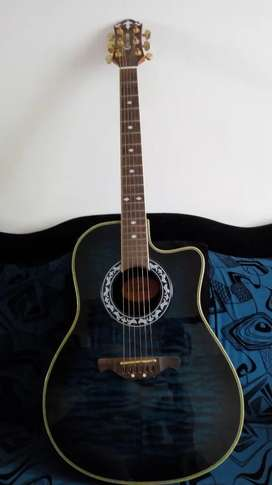 Guitarra electroacústica marca Crafter modelo FSG-300 EQ