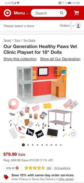 Ourt Generation Healthy Clinic Playset