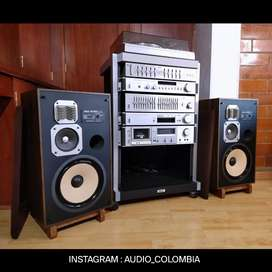 Akai amplificador ecualizador rack tuner tornamesa deck casetera parlantes marantz sansui pioneer Yamaha technics jbl