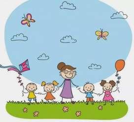 Cuidadoras de niños