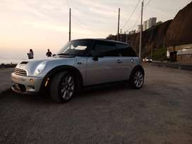 "MINI COOPER ""S"" Año 2006, 1600cc TURBO"