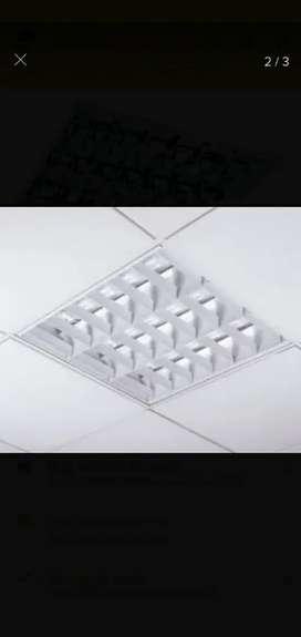 Luces rejilla con lámparas