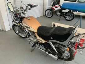 MOTOMEL CUSTOM 150 CC. SIN DETALLES, AL DIA, LISTA PARA TRANSFERIR.