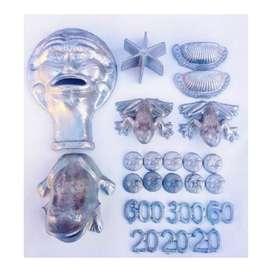 Kit Completo Juego Del Sapo en Aluminio