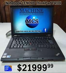 Notebook Lenovo T410i i5 4GB//320GB//DVDRW GARANTÍA!