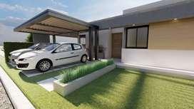 Lote + Urbanización + Construcción de casa
