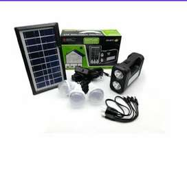 Kit panel solar exteriores