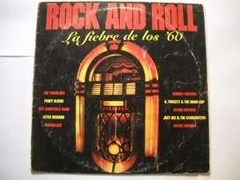 rock and roll la fiebre de los '60 lp vinilo estado aceptable