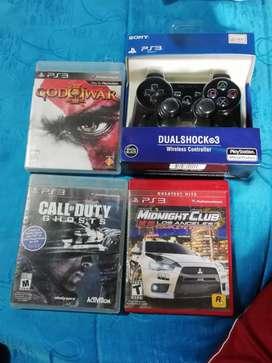 Vendo control y videojuegos para ps3