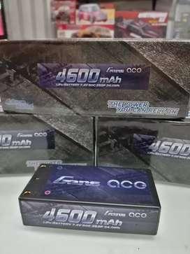 Baterías LiPo 7.4V 2S 4600mAh Shorty. Para carros RC escalas 1/10 y 1/8. Envíos. Recibimos tarjetas de crédito.